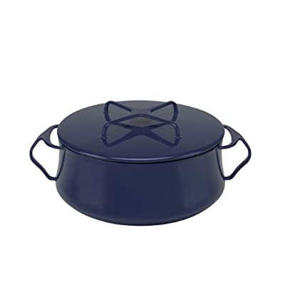 Dansk 834335 Kobenstyle Casserole, 4-Quart, Midnight Blue