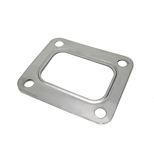 - T4 Turbo Turbocharger Inlet Gasket Open Stainless Steel Turbine Garrett Precision PTE Turbonetics (Open T4 Gasket)