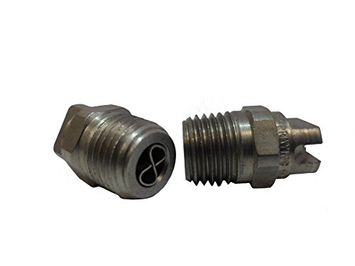 Ultimate Washer 1871B 1/4'' Male NPT Screw Type Surface Cleaner Nozzle, 25 Degree 1.5 Orifice Spray Tip by Ultimate Washer
