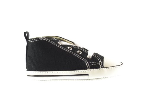 Converse First Star Hi Black 8J231 Crib Size 1 - Baby Converse Shoes Size 1