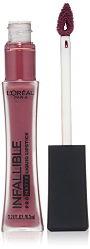 L'Oréal Paris Infallible Pro-Matte Liquid Lipstick, Plum Bum, 0.21 fl. oz. (Loreal Infallible Lip Color)