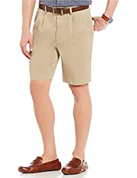 Pleated Washed Chino Shorts S85HR201, S85HR201B