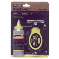 Stanley 47-681 100 Chalk Line Reel & Chalk Set ()