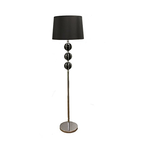 Solid Oak Magazine Floor Lamp - 1