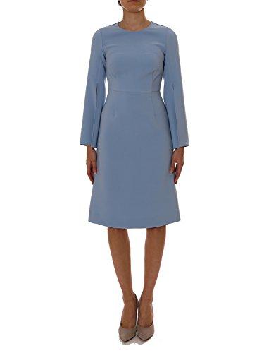 PAROSH Damen 721458POLO11 Hellblau Polyester Kleid 3e81OIXz ...
