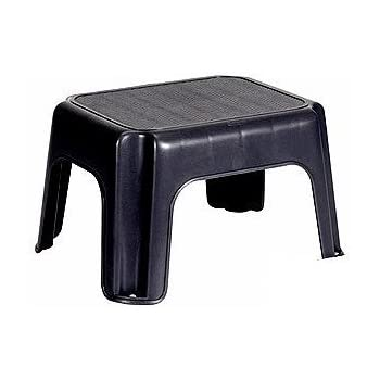 Amazon Com Rubbermaid Small Step Stool Black Kitchen