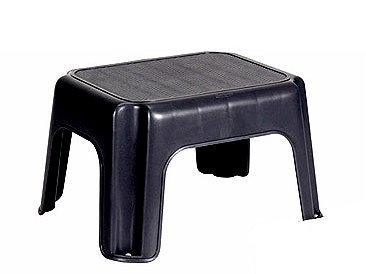 Rubbermaid Small Step Stool - Black SYNCHKG075443