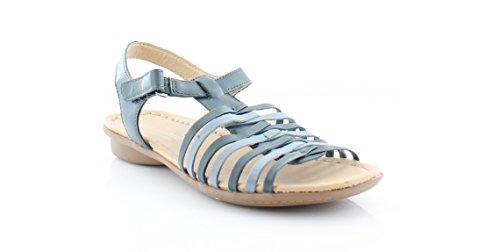 Naturalizer Women's Wade Huarache Sandal, Blue, 8 M US