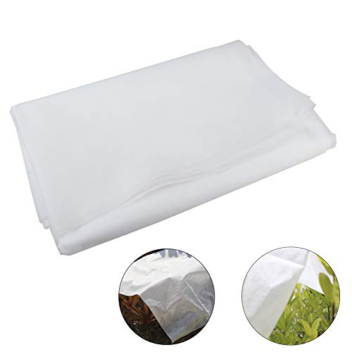 T-REASURE 24.6ft x 5.2ft Garden Plant Covers, Freeze Protection Blanket Rectangle Winter Frost Cover for Plant Season Extension & Frost Protection