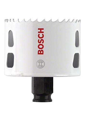 (Bosch 2608594230 BiM Progressor Bi Holesaw 8% Cobalt Alloy Progressive Toothed Strip for Wood and Metals Diameter 73 mm )