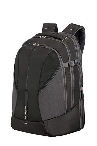 Samsonite 4Mation Laptop Backpack Casual Daypack, 46 cm, 34 Liters, Large, Black/Silver