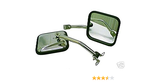 Amazon Com New Jeep Parts Tj Wrangler Stainless Mirror Kits 97 06 Automotive