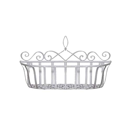 Small Openwork Basket - Wall Mounted Openwork Metal Wire Storage Basket Shelves Wall Mounted Holder Hanging Flower Basket