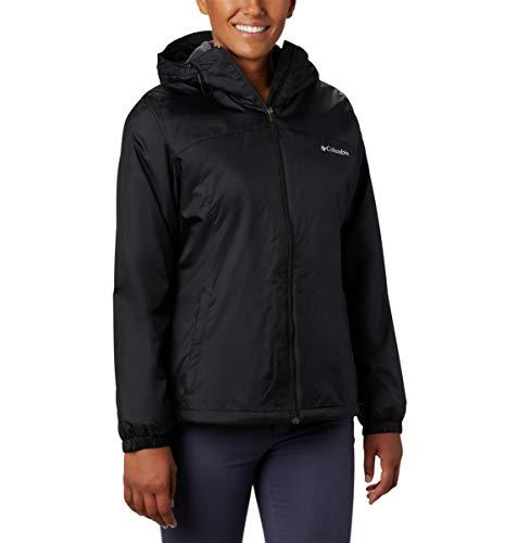 Columbia Women's Switchback Sherpa Lined Jacket, Black, X-Small