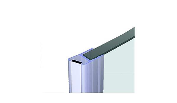 Junta para duchas, 200 cm – Para 8 mm Cristal – magnético Junta deflectores de agua para ducha puerta de ducha Perfil de junta Labios. En Nuestra Tienda todo tipo de formas