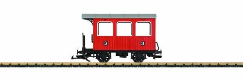 Toy Lgb Train (LGB Toy-Train Wood 4-Wheel Passenger Car Ready to Run G Scale Car)