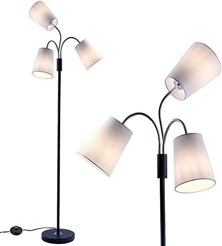 3 Light Adjustable Floor Lamp