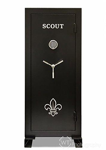Scout Gun Safe 22 Long Gun Capacity Fire Resistant for 60 mins.