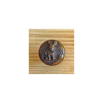 brass rabbit knob - 6