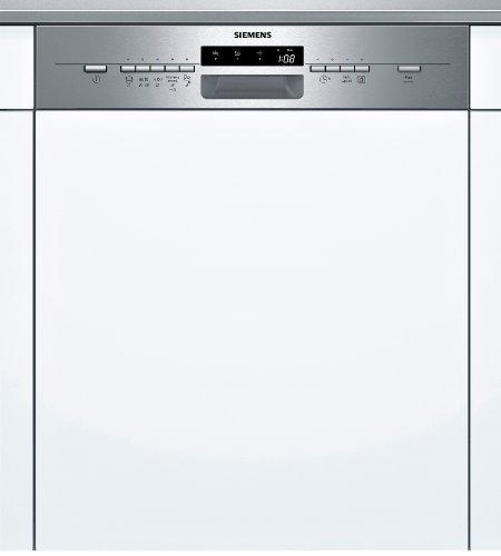 Siemens SN55L581EU iQ500 Teilintegrierbarer Geschirrspüler / Einbau / A++ A / 13 Maßgedecke /60 cm / Edelstahl