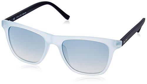 Police S1936M 532AEB Wayfarer Sunglasses, Matte Blue & Gradient Blue, 53 - Sunglasses Police Wayfarer