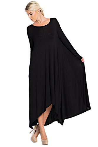 long black handkerchief dress - 5