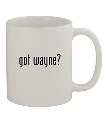 got wayne? - 11oz Sturdy Ceramic Coffee Cup Mug, White