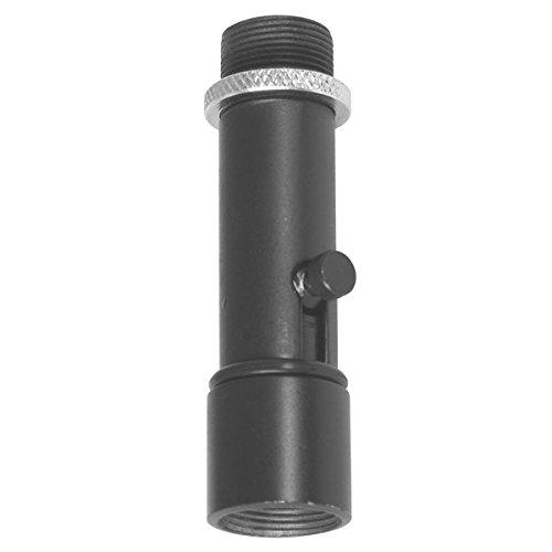 Adaptador de clip de micrófono QK-2B Quik-Release en el escenario, negro