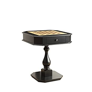 Image of Home and Kitchen Acme Furniture Acme 82846 Bishop Game Table, Black, One Size