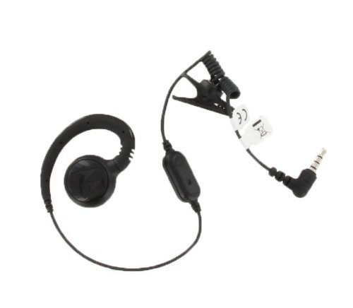 (Motorola CLP1060 Swivel Earpiece With In-line Microphone)