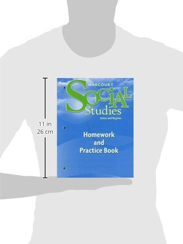 Harcourt Social Studies: Homework and Practice Book Student ...