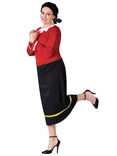 Popeye And Olive Oyl - Olive Oyl Plus Size Adult Costume