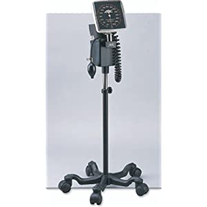 Mobile Aneroid BP Cuff w/ Stand