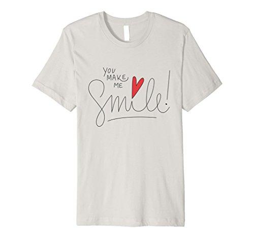 b6af3bd87 Valentine's Day T Shirt You make me Smile – Our novelty clothing t ...