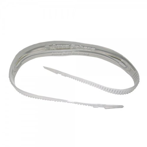 Aqua Sphere Kaiman Replacement Strap - Clear, no strap (Replacement Goggle Strap)
