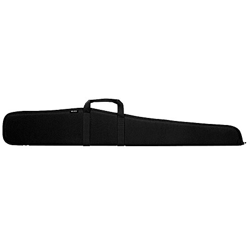 Bulldog Cases BD110 Pit Bull Shotgun Black Rife Case with Black Trim (52-Inch) 52 In Shotgun Case