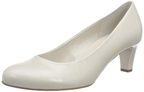 Shoes Gabor Off Basic Gabor Escarpins 80 Femme white Blanc absatz fUqUdv