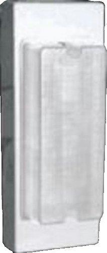 RAB Lighting VAN6F13MSW Vandal Proof 6 by 13 Wall 13-Watt FL 120-Volt with Sensor, White ()