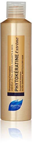 PHYTOKÉRATINE EXTRÊME Botanical Exceptional Shampoo | Ultra-Weak, Damaged, Brittle, Dry Hair | Provide Nutrition & Shine, Restore Elasticity, Reduce Breakage | Baobab Oil | Sulfate Free, Paraben Free