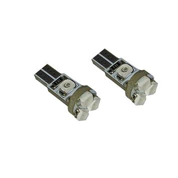 T5S5B - SMD LED Lámpara AZUL T5 W2,3W T5 12V lámpara del instrumento del
