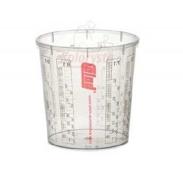 10 x Colad Bol Avec é chelle 2300 ml Vernis Stylo - Gobelet sans Couvercle, 9410300