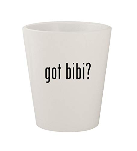 - got bibi? - Ceramic White 1.5oz Shot Glass