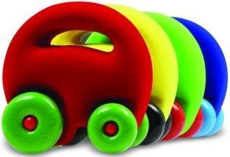 The Mascot Car Grab'em 1 - Assorted Colors-One Random Car by Rubbabu