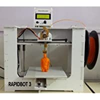 MakeMendel MMRBU Unassembled RapidBot 3.0 Desktop 3D Printer