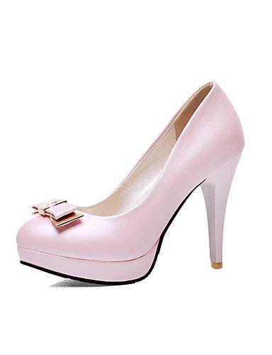 GGX/Damen Schuhe PU Stiletto Heel Heels/Schuhe Heels Office & Karriere/Casual Blau/Pink/Weiß pink-us10.5 / eu42 / uk8.5 / cn43