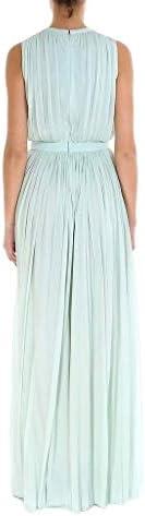 Alexander McQueen Luxury Fashion Femme 558277QML023220 Vert Robe | Saison Outlet