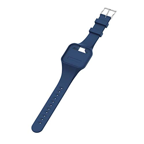 Thobu Silicone Replacement Wrist Strap Watch Band for Golfbuddy Voice GPS Voice 2 Golf GPS/Rangefinder Blue,Watch Bands