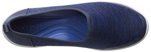 Crocs Donna Impegnata Giorno Heather Skimmer Flat Navy