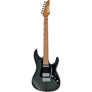 Ibanez Erick Hansel Signature EH10 E-Gitarre mit Tasche, Jatoba Griffbrett, transparent grün matt