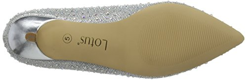 Pinnacle Diamante Silver Escarpins Argenté Femme Lotus Slv A8SH11